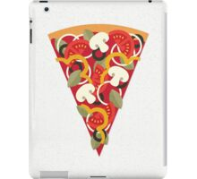 Pizza Power - Vegetarian Version iPad Case/Skin