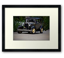 1931 Ford Model A Sedan Framed Print