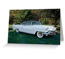 1956 Cadillac El Dorado Sevelle Greeting Card