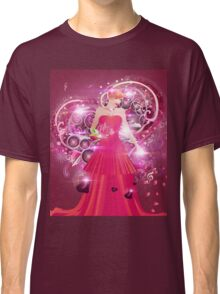 Lady in red dress Classic T-Shirt
