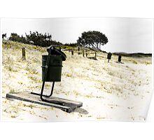 Beach Garbage Poster