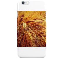 Autumn Wheat iPhone Case/Skin
