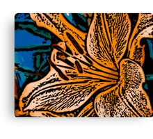 Show Off - Woodcut Canvas Print
