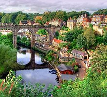 View From The Castle - Knaresborough by Colin J Williams Photography