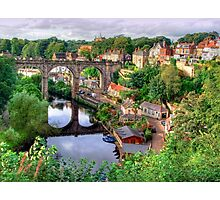 View From The Castle - Knaresborough Photographic Print