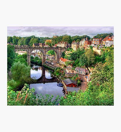 View From The Castle - Knaresborough Photographic Print