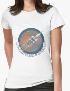 Orion Spacecraft  Womens Fitted T-Shirt