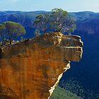 Hanging Rock, Blue Mountains by Matt  Lauder