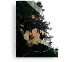 Christmas Tree and Card - tote bag and others available Canvas Print