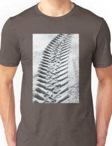 Snow Tracks Unisex T-Shirt
