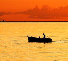Ocean Orange by Dave Lloyd