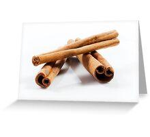 Cinnamon Sticks Greeting Card