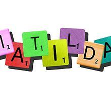 Matilda the Musical {tile logo} by matildaismagic