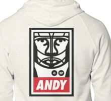 BBG006 —Obey Andy Zipped Hoodie