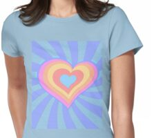 Paper hearts 2 Womens Fitted T-Shirt