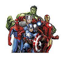 Marvel Comic Photographic Print