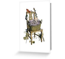 Changeling Baby Greeting Card