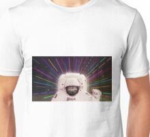 Sloth in outerspace Unisex T-Shirt