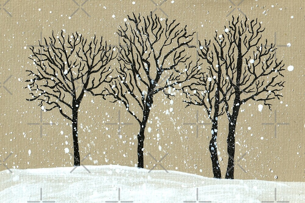 Winter by Aleksandra Kabakova