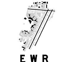 Newark Airport Diagram by vidicious