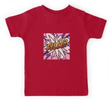Comic Book FILLE! Kids Tee