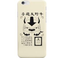 Lost Appa Poster III iPhone Case/Skin