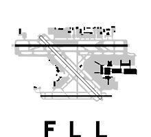 Fort Lauderdale Airport Diagram by vidicious