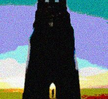 glastonbury tor by davesart