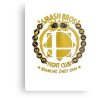 Super Smash Bros. Fight Club Metal Print