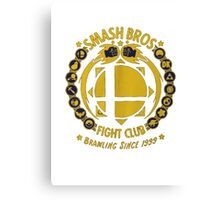 Super Smash Bros. Fight Club Canvas Print