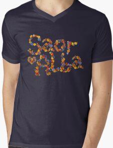 Flower Power- Saor Alba Mens V-Neck T-Shirt