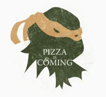 Pizza is Coming (Turtle Green Version) by JohnLucke
