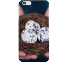 Holding the nest iPhone Case/Skin