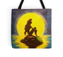 Ariel & the Moon - the Little Mermaid Tote Bag