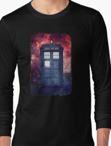 Police Blue Box Tee The Doctor T-Shirt T-Shirt