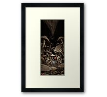 Fungus Forest Framed Print