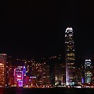City of Lights - Hong Kong by Wayne Holman