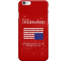 House Underwood iPhone Case/Skin