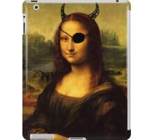 a bit less classy mona lisa iPad Case/Skin