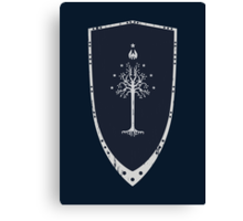 Lord Of The Rings - Gondor Shield Canvas Print