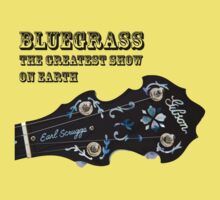 Bluegrass The Greatest Show On Earth - banjo by Paul Thompson