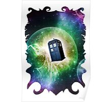 Universe Blue Box Tee The Doctor T-Shirt Poster