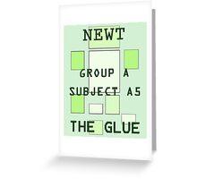 Newt - The Maze Runner Greeting Card