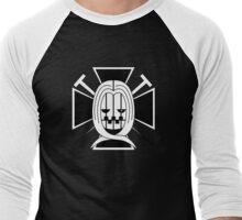 Hawkins Pirates Jolly Roger Men's Baseball ¾ T-Shirt
