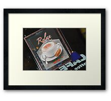 another Martini????? Framed Print