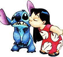 Lilo & Stitch Kiss by Iliveinfantasy