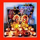 Diwali Puja (Happy...) by Lydia Cafarella