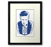 Get it Tee Of Character Dr. Who T-Shirt Framed Print