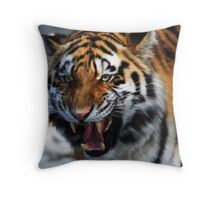 Aggression! Throw Pillow