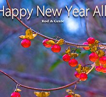 HAPPY NEW YEAR RB FRIENDS!! by Rod  Adams